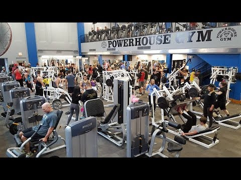 360 Virtual reality gym tour Powerhouse Gym Columbus Ohio