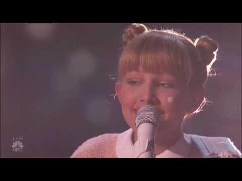 Grace VanderWaal: The Ukulele Girl OMG! | Semi-finals (FULL) | America's Got Talent 2016