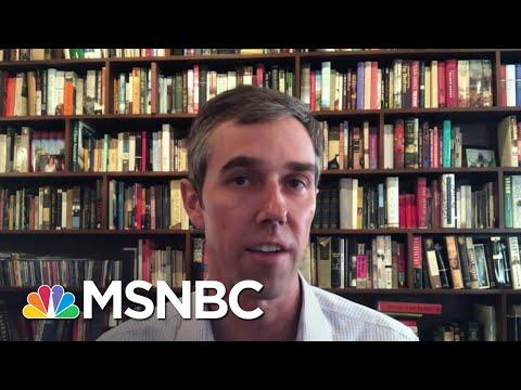 Beto O'Rourke: Texas Voting Surge 'A Good Sign For Texas Democrats' | Katy Tur | MSNBC