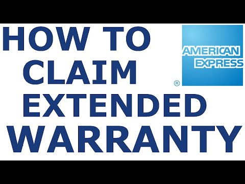 How To Claim American Express Extended Warranty Benefit  | Credit Card Benefits