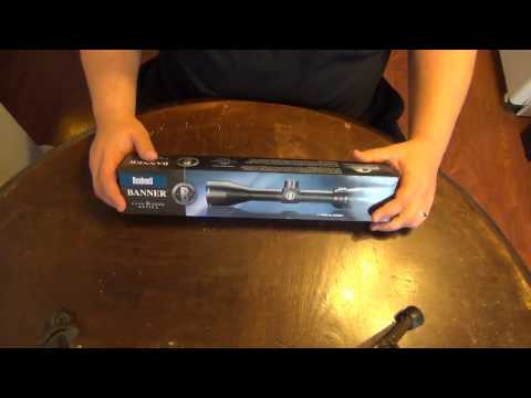 Bushnell Banner Dusk and Dawn rifle scope unboxing and quick look