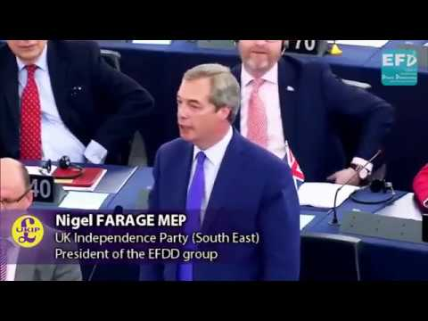 Nigel Farage jeered in European Parliament accusing EU of 'behaving like the mafia' over Brexit