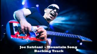 Joe Satriani - Mountain Song (Backing Track)