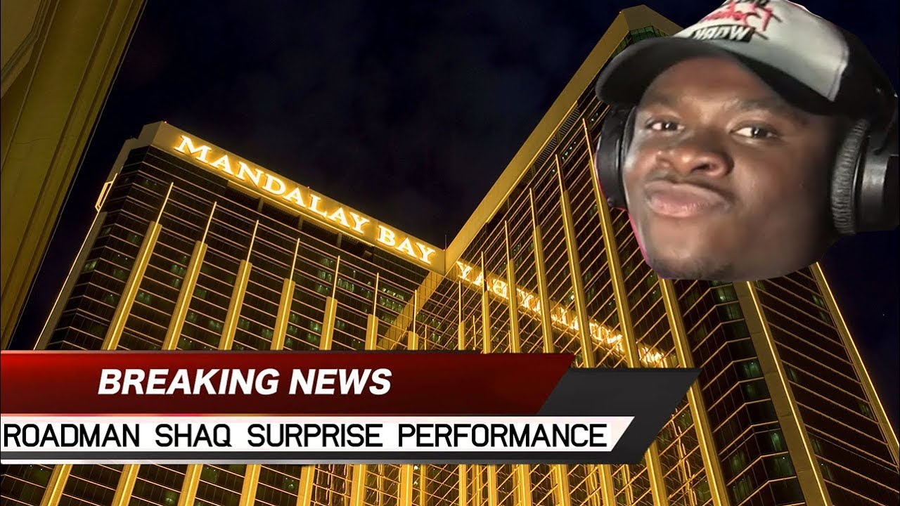 437154243b8 Big Shaq Surprise Performance In Las Vegas - YouTube