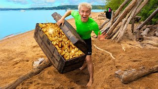 Cover images HIDDEN GOLD TREASURE FOUND on SECRET ISLAND!! *Worth Millions*