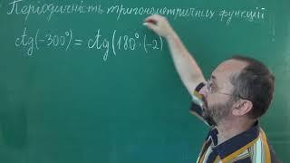 Тема 3 Урок 5 Періодичність тригонометричних функцій Приклад 3 - Алгебра 10 клас