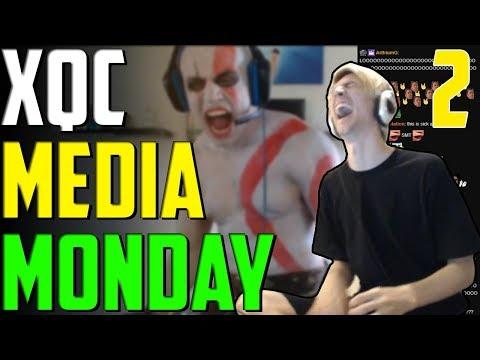 XQC MEDIA MONDAY #2 w/CHAT