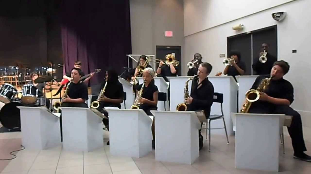 Booker Middle School Jazz Band