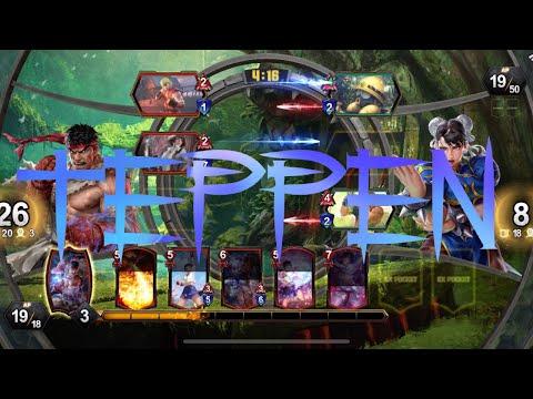 TEPPEN : First 15 - Capcom Mobile Card Game