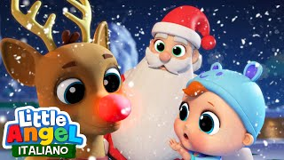 Canzone di Natale per bambini | Babbo Natale | Little Angel Italiano