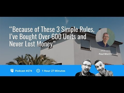 Because of These 3 Simple Rules, I've Bought Over 600 Units and Never Lost Money | BP 274