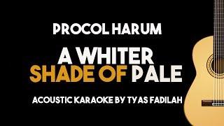 Procol Harum - A Whiter Shade of Pale (Acoustic Guitar Karaoke Version)