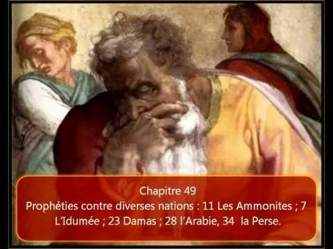 3 partie du livre de Jérémie en