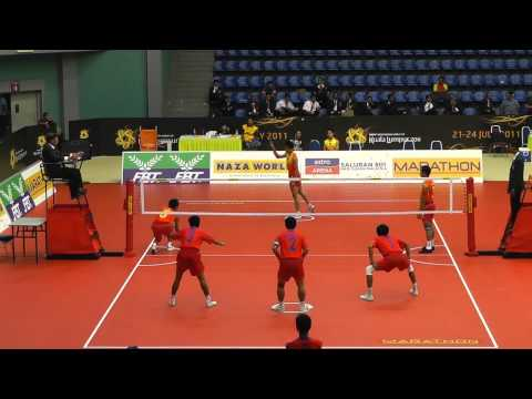 2011 Sepak Takraw World Cup - Cambodia vs. China