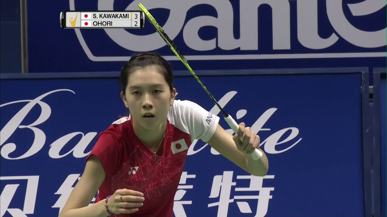 China Masters 2017 Badminton F M1 WS