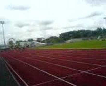 Hayley Harvey Running The 100M