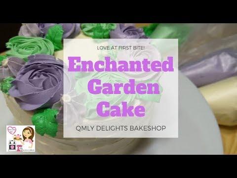 #49 Enchanted Garden Cake | Happy Birthday Chae Eun! | QMLY Delights