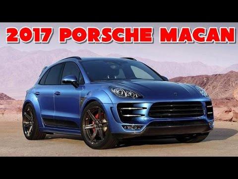 2017 Porsche Macan Redesign Interior And Exterior