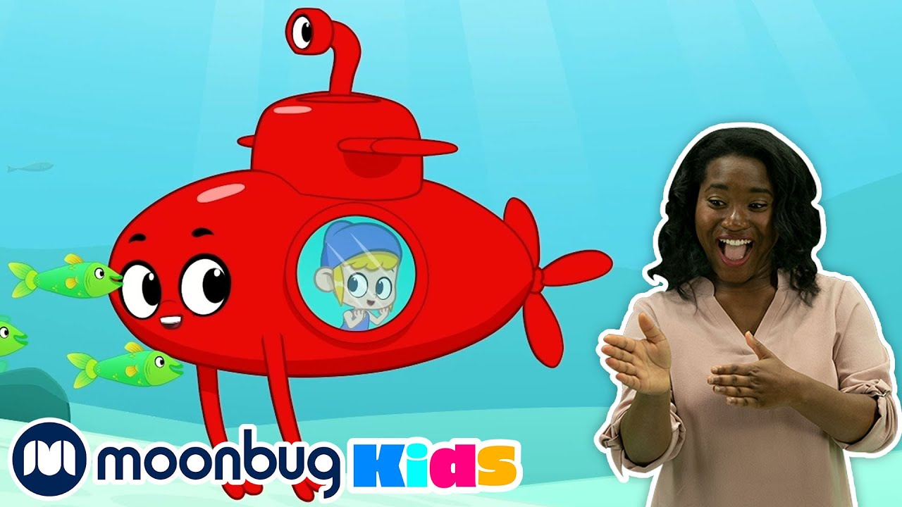 Baby Shark   Sign Language For Kids   Kids Cartoon   Morphle   ASL