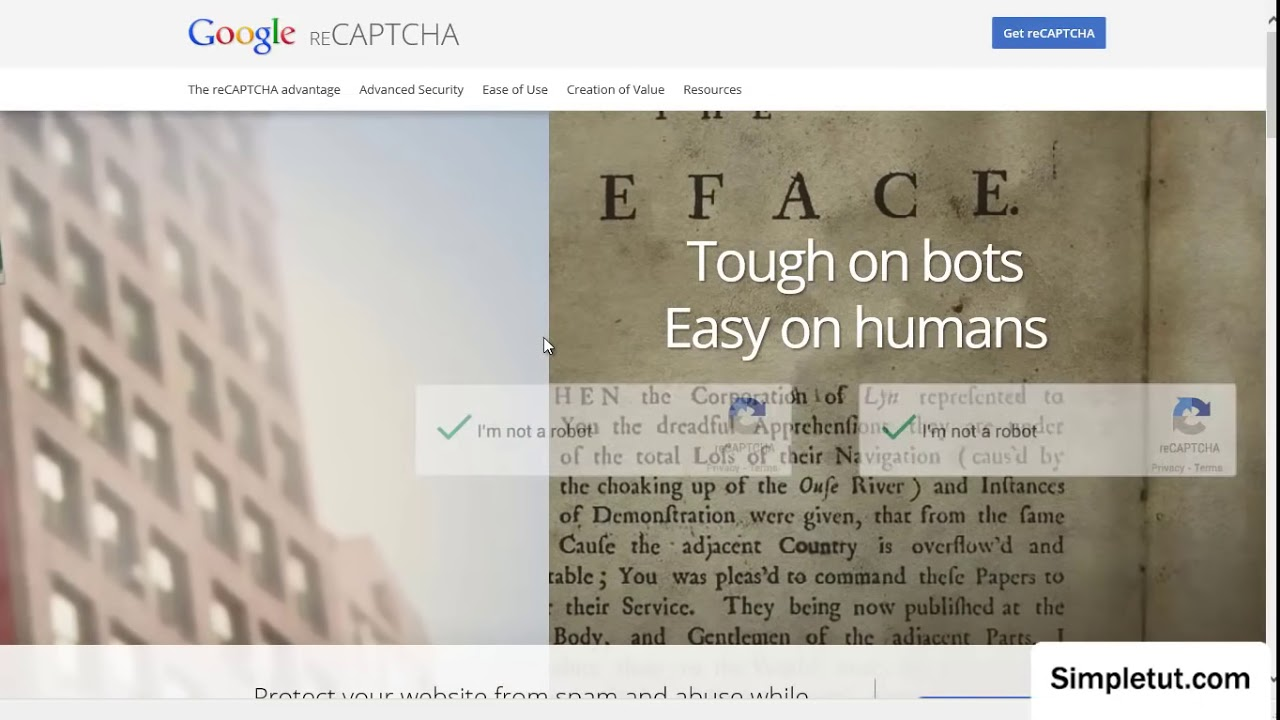 How To Install Google's reCAPTCHA - Add Captcha to Your Websites ...