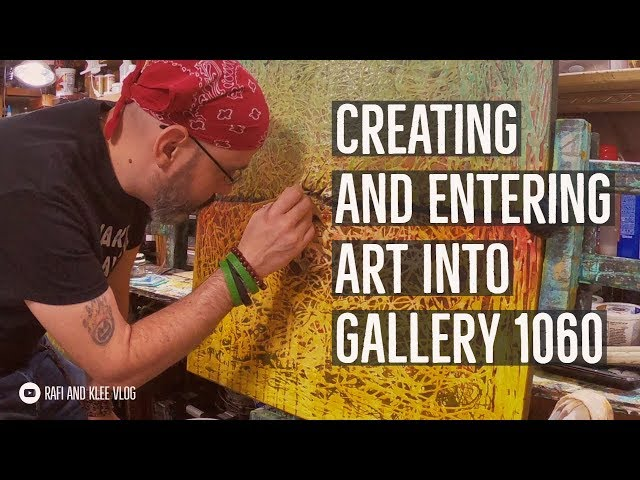 Creating And Entering Art Into Gallery 1060 Art Show