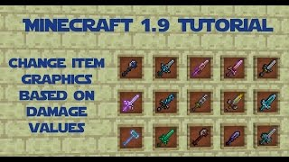 Minecraft Tutorial Part 051 - Changing Item Graphics Based on Damage Values