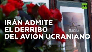 Irán afirma que derribó el avión de pasajeros ucraniano