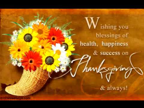 A thanksgiving greetings youtube a thanksgiving greetings reheart Gallery