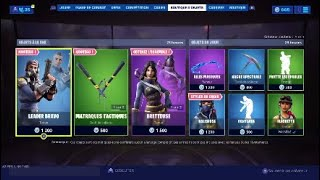 NEW SKIN NEW FORTNITE BOUTIQUE of August 13th (TODAY'S BOUTIQUE)!