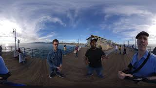 360 View - TedTheAtheist vs Rambling theist at Santa Monica
