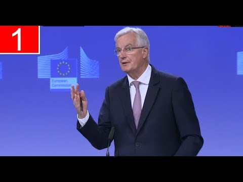 EU's Brexit negotiator sets out tough conditions for UK (12Jul17)
