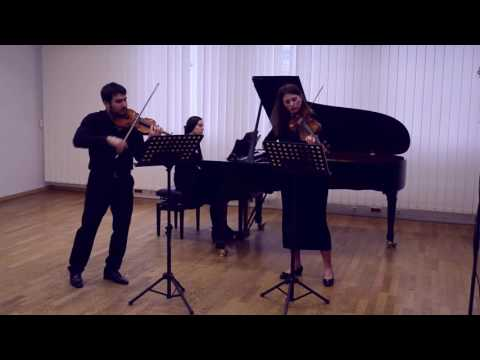 W. A. Mozart - Sinfonia Concertante for violin, viola and orchestra 1st movement