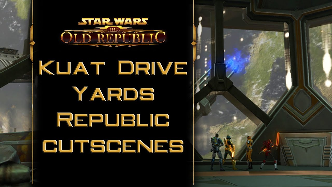 SWTOR: Kuat Drive Yards - Republic cutscenes - The Secret ...