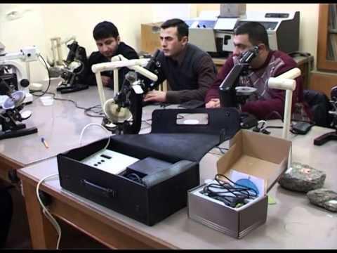 YSU laboratories were equipped with modern scientific equipment.