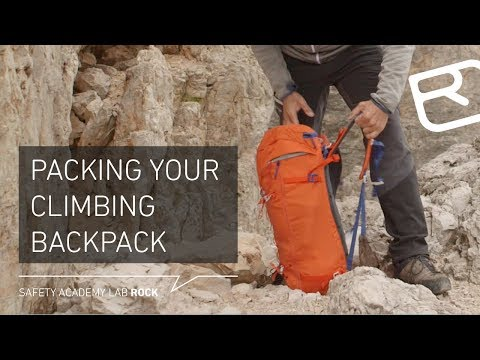 [Tips and Tricks: The right way to pack your climbing backpack]