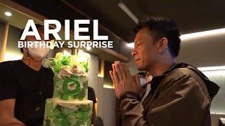 Ariel NOAH Birthday Surprise