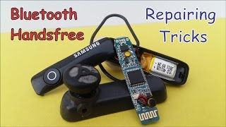 Bluetooth Handsfree Repairing Tricks