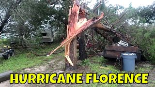RAW Hurricane Florence Aftermath First Footage 9/15/2018
