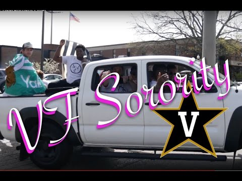 Vandy Football Sorority Recruitment Video 2017