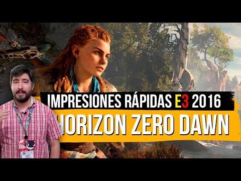 HORIZON: ZERO DAWN Impresiones E3 2016