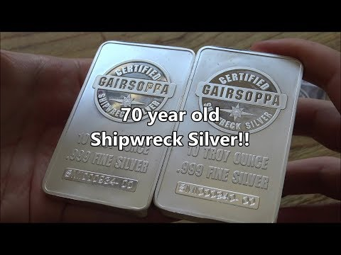 70 year old Shipwreck Silver - IFF #148