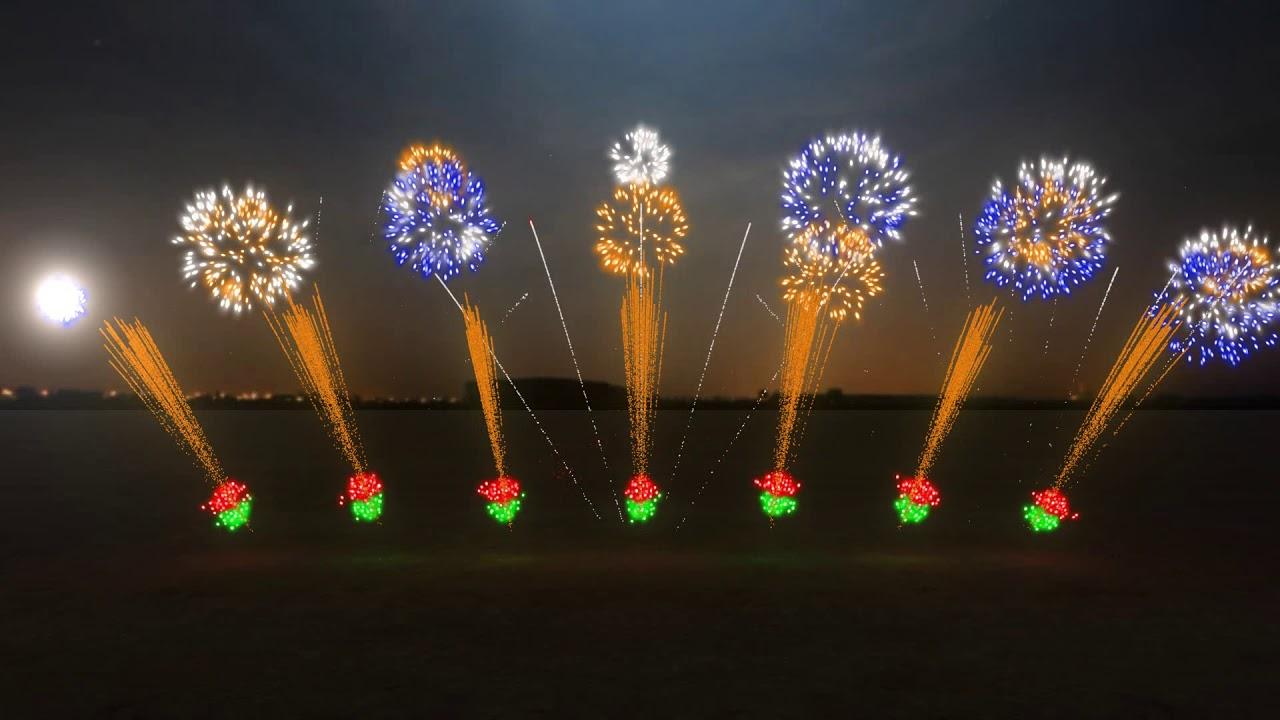 Fuochi D'Artificio Con FWsim #7