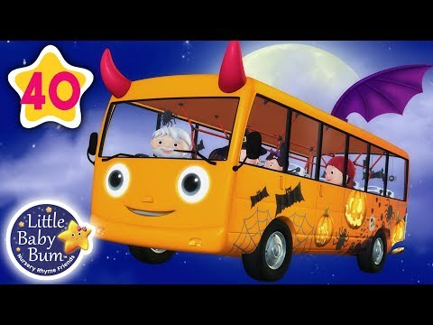 Wheels On The Bus - Halloween Special | And More Nursery Rhymes & Kids Songs | Little Baby Bum thumbnail