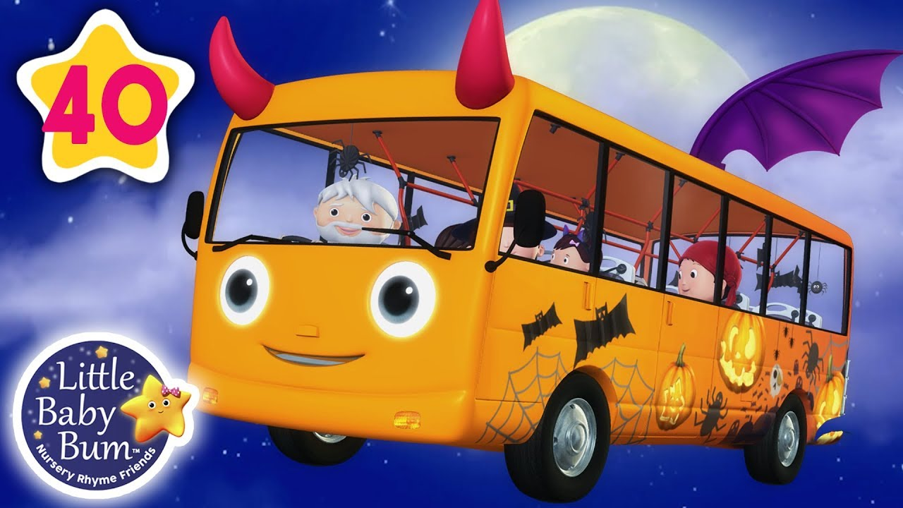 Wheels On The Bus Halloween Special And More Nursery Rhymes