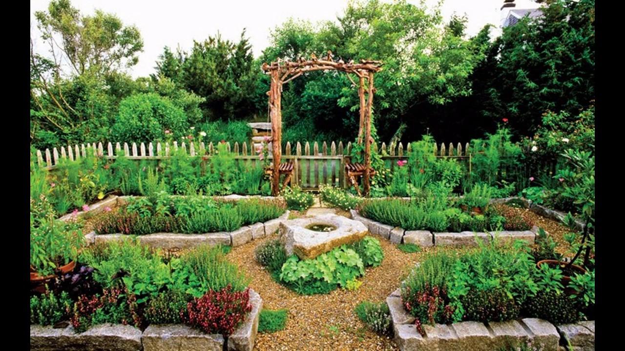 Backyard vegetable garden design ideas - YouTube