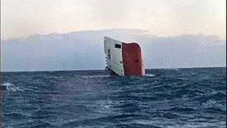 Eight crew feared dead as cargo ship sinks off Scotland