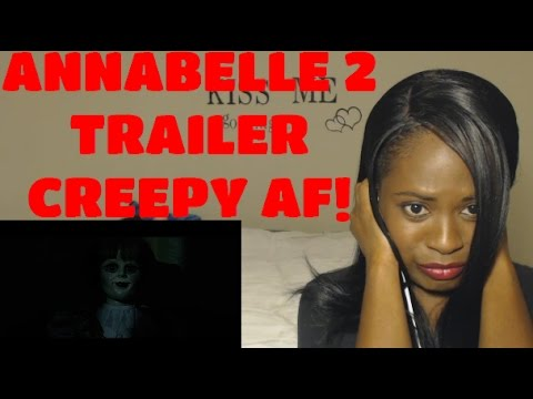 Annabelle 2: Creation Official Trailer #2 (2017) | REACTION