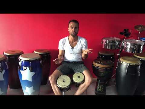 Bongo Dersi Part-1 (Vuruş Teknikleri/Martillo)