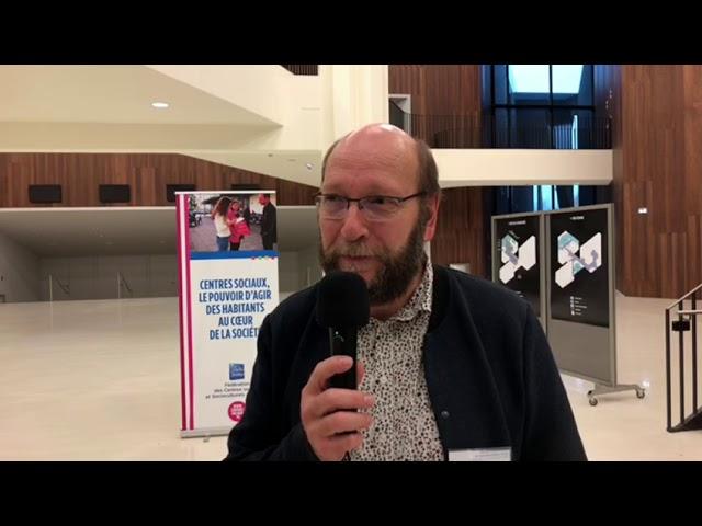 Interview de Dominique Mallaisé, directeur d'un centre socioculturel, JPAG 2018