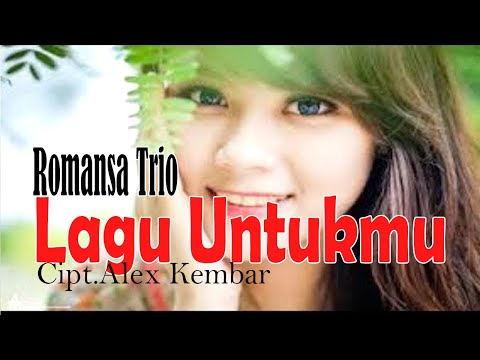 Lagu Nostalgia LAGU UNTUKMU - Green Hits Pop Indonesia - Trio Romansa#music